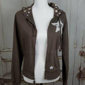 Roxy zip up hooded Jacket
